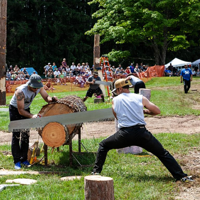 woodsmen show